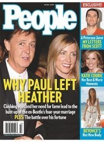 WHY PAUL LEFT HEATHER