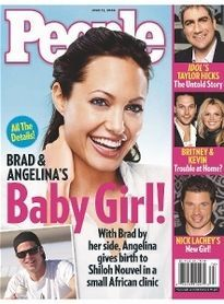 BRAD & ANGELINA'S BABY GIRL!