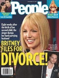 BRITNEY FILES FOR DIVORCE!