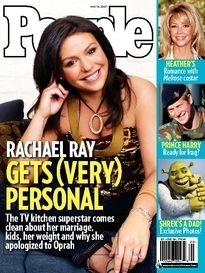 RACHAEL RAY GETS (VERY) PERSONAL