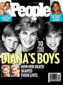 DIANA'S BOYS 10 YEARS LATER
