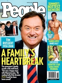 A FAMILY'S HEARTBREAK TIM RUSSERT
