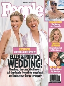 ELLEN & PORTIA'S WEDDING!