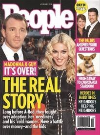 THE REAL STORY MADONNA & GUY IT'S OVER