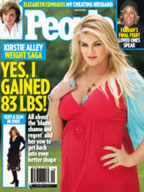 KIRSTIE ALLEY WEIGHT SAGA