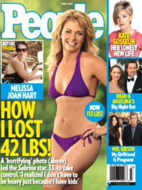 MELISSA JOAN HART HOW I LOST 42 LBS!