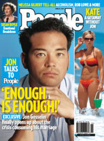 'ENOUGH IS ENOUGH!' JON GOSSELIN
