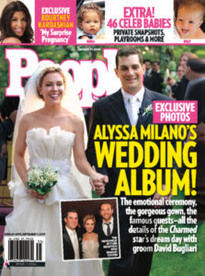 ALYSSA MILANO'S WEDDING ALBUM!
