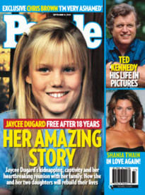 JAYCEE DUGARD FREE AFTER 18 YEARS
