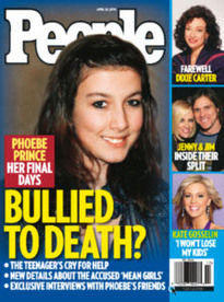 BULLIED TO DEATH? PHOEBE PRINCE