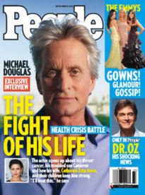 MICHAEL DOUGLAS: THE FIGHT OF HIS LIFE