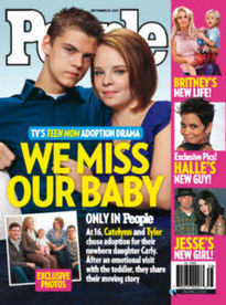 TEEN MOM: WE MISS OUR BABY
