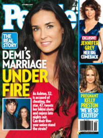 DEMI'S MARRIAGE UNDER FIRE