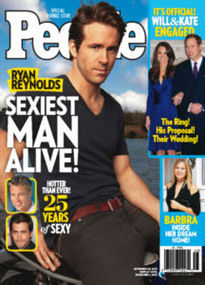 RYAN REYNOLDS SEXIEST MAN ALIVE! DOUBLE ISSUE