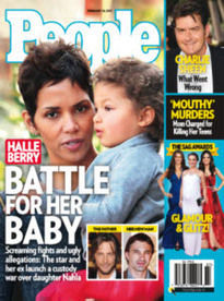 BATTLE FOR HER BABY HALLE BERRY