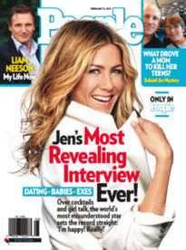 JENNIFER ANNISTON'S MOST REVEALING INTERVIEW EVER!
