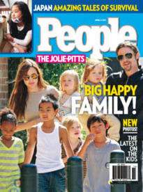 THE JOLIE-PITTS: BIG HAPPY FAMILY