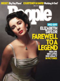 ELIZABETH TAYLOR: FAREWELL TO A LEGEND