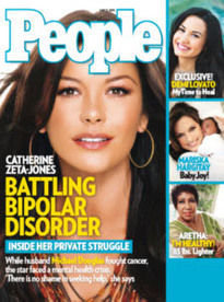 BATTLING BIPOLAR DISORDER CATHERINE ZETA-JONES