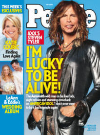 I'M LUCKY TO BE ALIVE! IDOL'S STEVEN TYLER