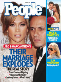 J. LO & MARC ANTHONY: THEIR MARRIAGE EXPLODES