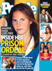 AMANDA KNOX GOES FREE - INSIDE HER PRISON ORDEAL