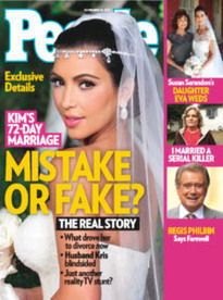 MISTAKE OR FAKE? KIM'S 72-DAY MARRIAGE