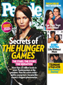 SECRETS OF THE HUNGER GAMES KATNISS