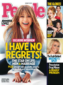 I HAVE NO REGRETS! JENNIFER LOPEZ