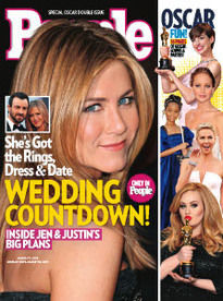 WEDDING COUNTDOWN! JENNIFER ANISTON