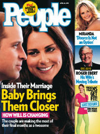 BABY BRINGS THEM CLOSER WILLIAM & KATE