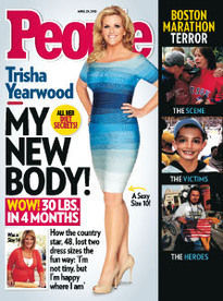 MY NEW BODY! TRISHA YEARWOOD