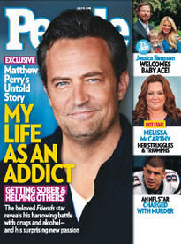 MY LIFE AS AN ADDICT MATTHEW PERRY