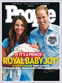 ROYAL BABY JOY! IT'S A PRINCE!