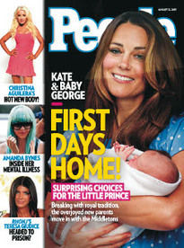 FIRST DAYS HOME! KATE & BABY GEORGE