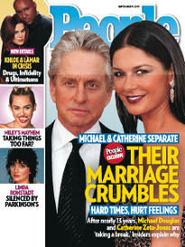 THEIR MARRIAGE CRUMBLES - MICHAEL & KATE SEPARATE