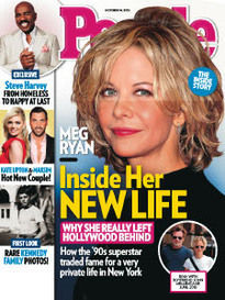 MEG'S SURPRISING NEW LIFE MEG RYAN