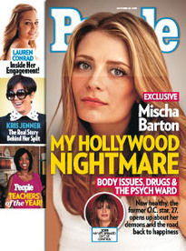 MY HOLLYWOOD NIGHTMARE MISCHA BARTON