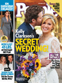 KELLY CLARKSON'S SECRET WEDDING