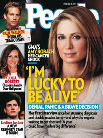 I'M LUCKY TO BE ALIVE AMY ROBACH