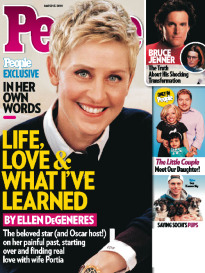 LIFE, LOVE & WHAT I'VE LEARNED ELLEN DEGENERES