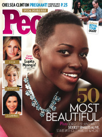50 MOST BEAUTIFUL LUPITA NYONG'O