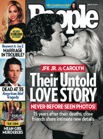 THEIR UNTOLD LOVE STORY - JFK JR. & CAROLYN