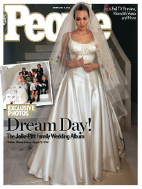 DREAM DAY! THE JOLIE-PITT FAMILY WEDDING ALBUM