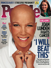 'I WILL BEAT THIS' - JOAN LUNDEN FIGHTS CANCER