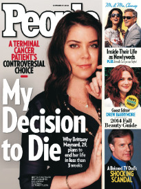 MY DECISION TO DIE BRITTANY MAYNARD