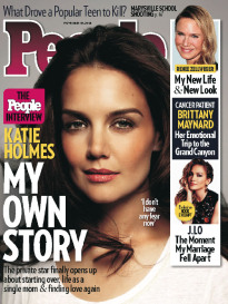 KATIE HOLMES - MY OWN STORY
