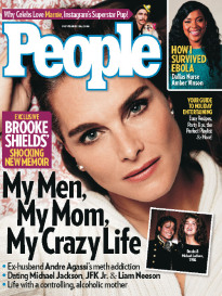 MY MEN, MY MOM, MY CRAZY LIFE BROOKE SHIELDS