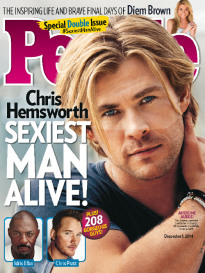 SEXIEST MAN ALIVE CHRIS HEMSWORTH