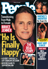 BRUCE JENNER - 'HE IS FINALLY HAPPY'